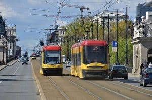 tram-in-warsaw
