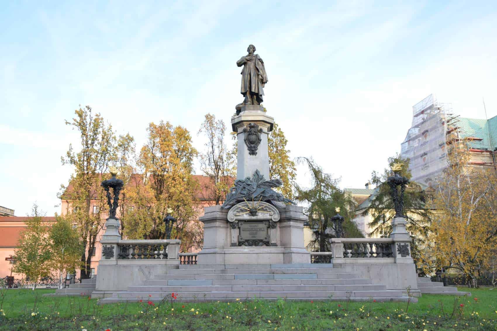 mickiewicz-monument-warsaw