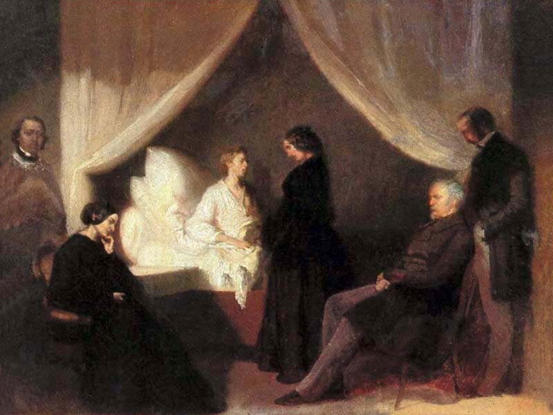 chopin-on-his-deathbed